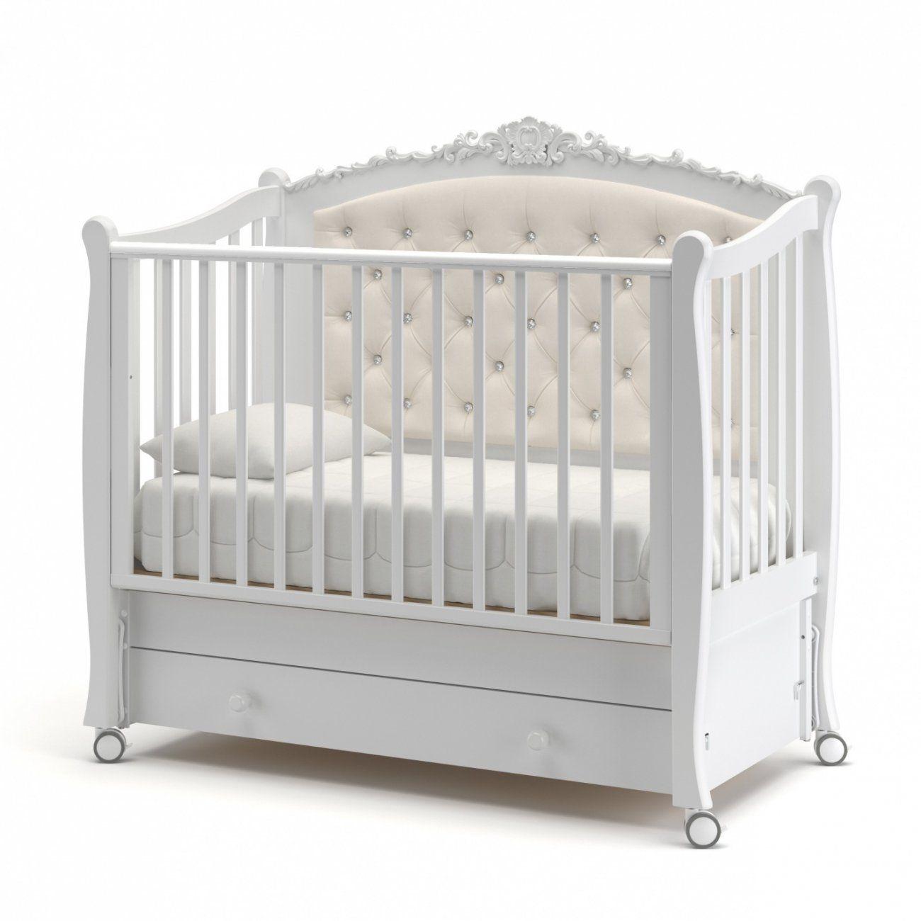 Гандылян Жаннет New детская кроватка с продольным маятником бук