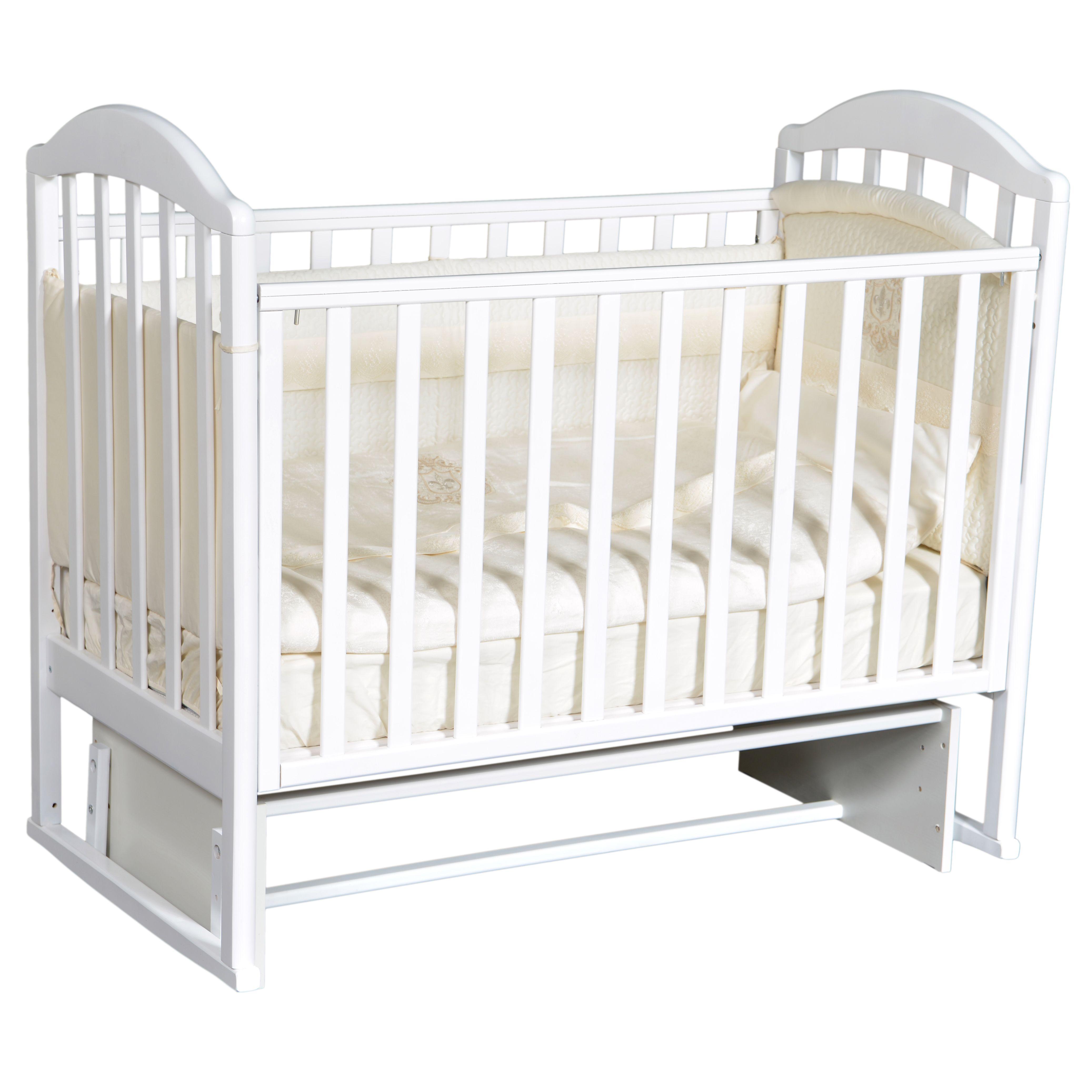 #Анита 3 белая детская кроватка
