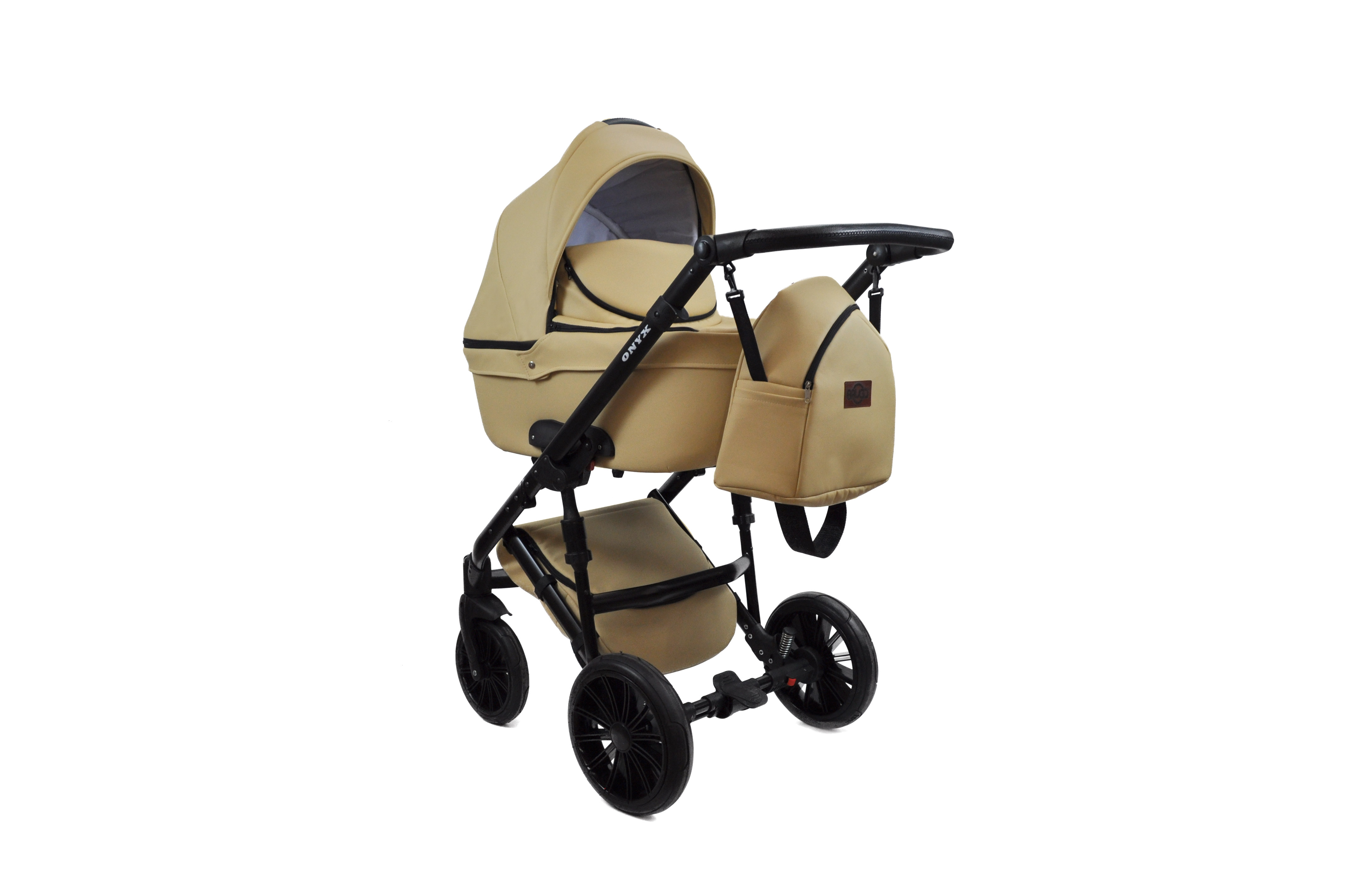 #Bruca Onyx Cappuccino детская коляска 2 в 1