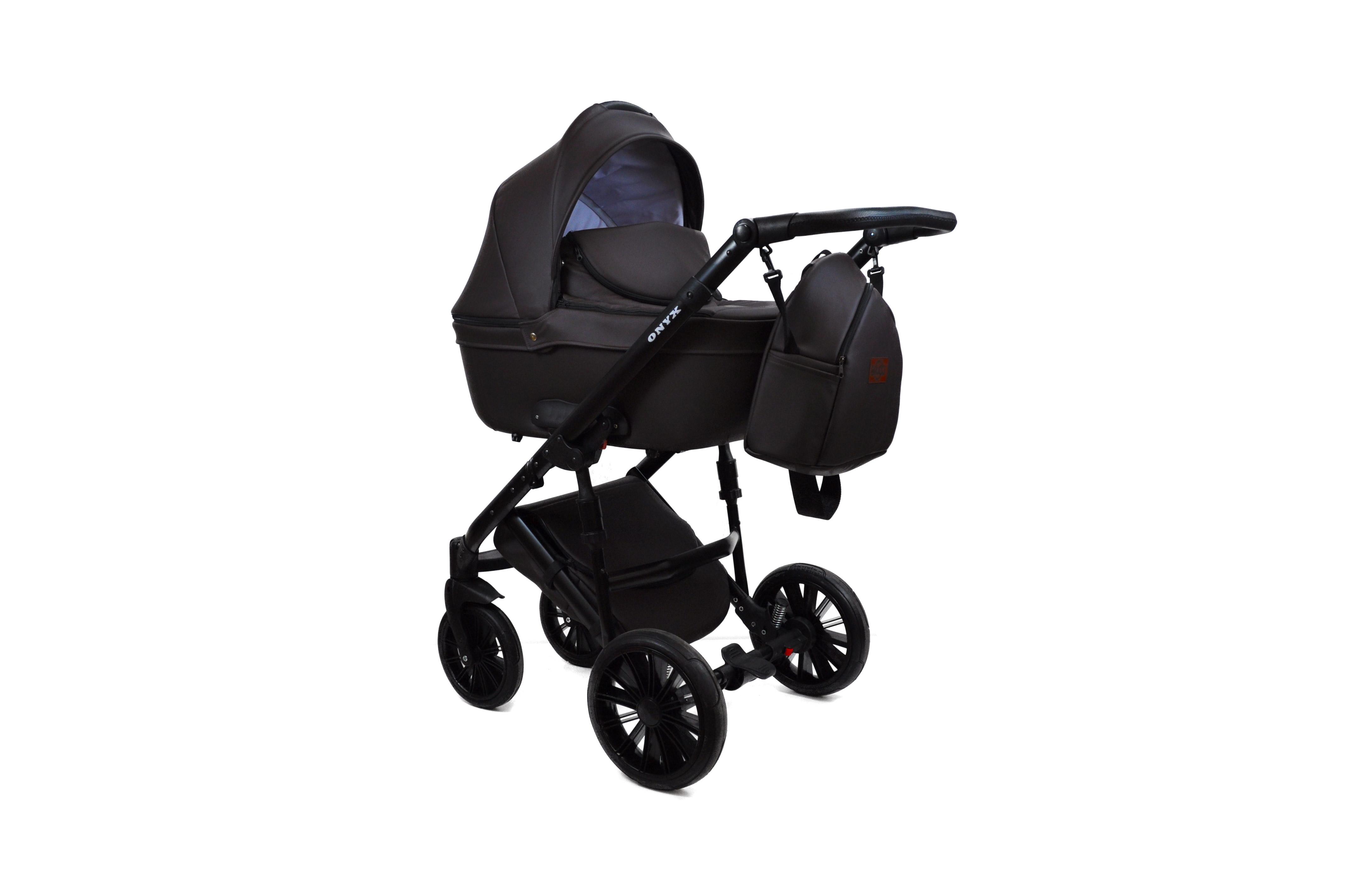 #Bruca Onyx Brown детская коляска 2 в 1
