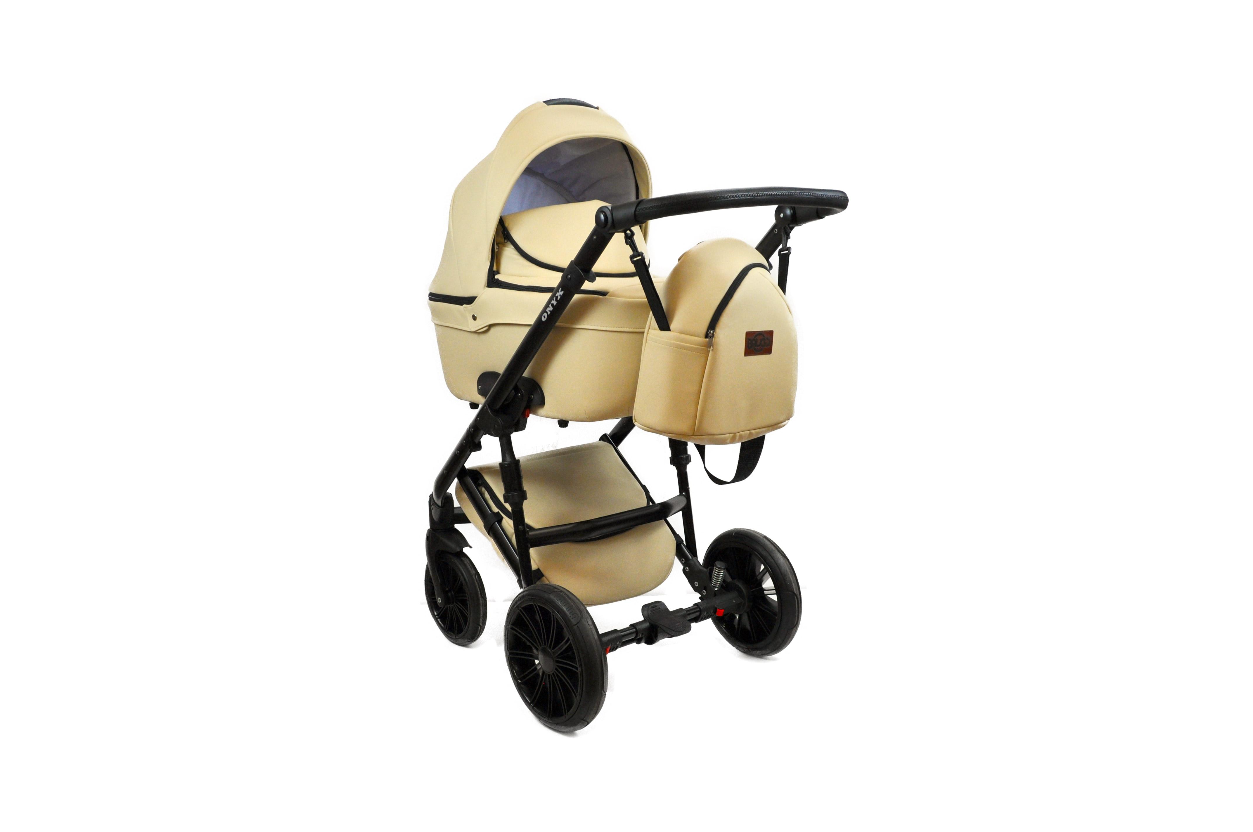 #Bruca Onyx Ivory детская коляска 2 в 1