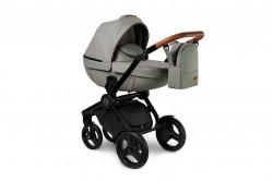 #Verdi Futuro Stone Grey детская коляска 3 в 1: люлька