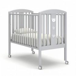 Гандылян Дени Люкс детская кроватка на колесиках бук