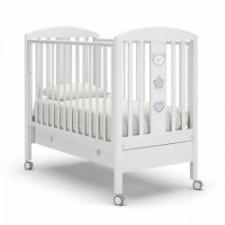 Гандылян Дени Люкс детская кроватка с ящиком на колесиках бук