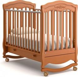 Гандылян Шарлотта детская кроватка колесо-качалка бук