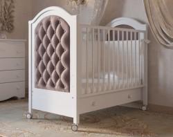 Гандылян Софи Люкс детская кроватка на колесиках бук