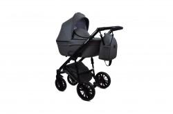 #Bruca Onyx Gray детская коляска 2 в 1