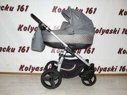 #Jedo Nevo детская коляска 2 в 1 серый