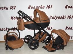 #Verdi Mirage детская коляска 3 в 1 шоколадная