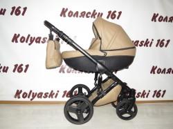 #Детская коляска 2 в 1 Verdi Mirage коричневая