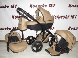 #Verdi Mirage детская коляска 3 в 1 коричневая