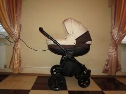 Детская коляска Tutis Tapu-Tapu 2 в 1 шоколадный/бежевый
