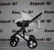 #Детская коляска 3 в 1 Smile Line Sandra: авто-люлька 0-10 кг