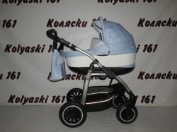 #Jedo Memo детская коляска  2 в 1 50 % кожа