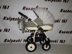 #Детская коляска 2 в 1 Indigo 17 S