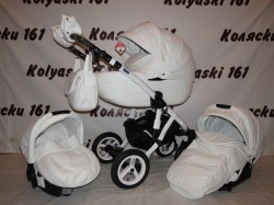 #Adamex Gloria Eco Deluxe детская коляска 3 в 1