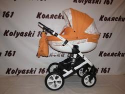 #Indigo Isabel детская коляска 2 в 1: люлька с рождения