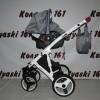 #Reryrsu(Farfello) Afina детская коляска 3 в 1: авто-люлька 0-10 кг