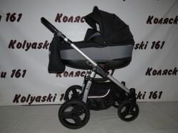 #Jedo Nevo детская коляска 2 в 1 черная