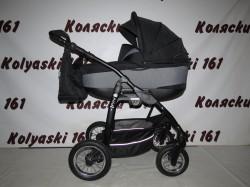 #Jedo Memo детская коляска 2 в 1 черная