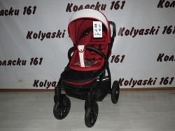 #Tutis Aero Sport красная с белым прогулочная коляска
