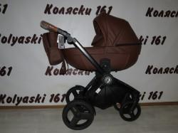 #Verdi Futuro New Brown Suger детская коляска 2 в 1: люлька