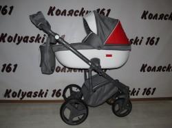 #Adamex Massimo детская коляска 2 в 1: люлька