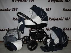 #Indigo Adele детская коляска 3 в 1: люлька, прогулочный блок+авто-люлька